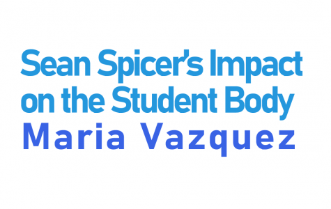 Sean Spicer's Impact on the Student Body